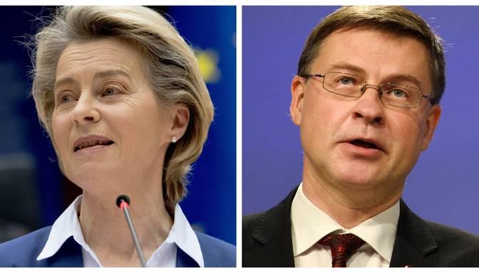 Leiena vaino Dombrovski vakcīnu eksporta kontroles shēmas kļūdā