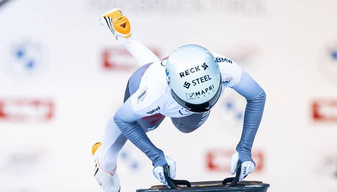 Skeletoniste Tērauda debijā pasaules čempionātā ierindojas 20.vietā