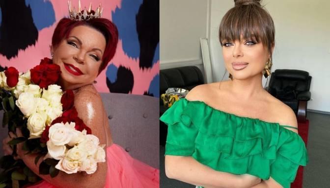 Natašas Koroļovas māte meitenīgā minikleitā nosvin 75. dzimšanas dienu