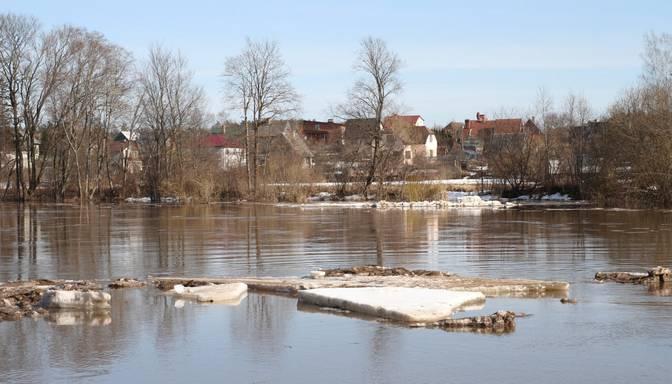 Plūdu risku pavasarī prognozē vairākos Daugavas un Lielupes posmos, kā arī Gaujas un Ogres lejtecē