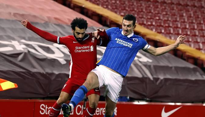"""""""Liverpool"""" savā """"Anfield"""" stadionā piedzīvo vēl vienu zaudējumu pret Premjerlīgas pastarīšiem"""
