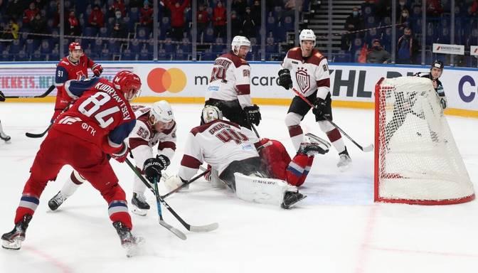 """Rīgas """"Dinamo"""" ceturto reizi šajā sezonā tiekas ar """"Lokomotiv"""""""