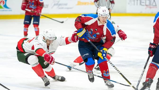 """""""Zemgale""""/LLU atkārtoti uzvar """"Liepājas"""" komandu un pārņem līderpozīcijas OHL čempionātā"""