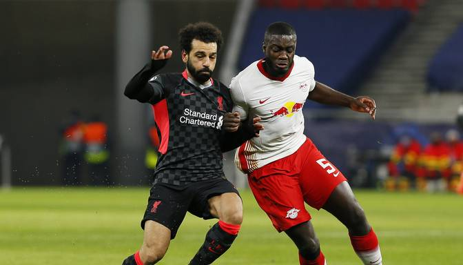 """""""Liverpool"""" UEFA ČL astotdaļfināla pirmajā spēlē Budapeštā uzvar """"Leipzig"""""""