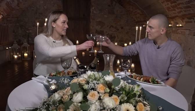 Divi romantiski vakari! Vai viens no mīlas šova pāriem izmantos iespēju un dosies uz otro randiņu?