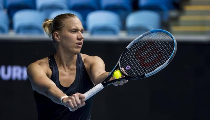 """Igauniete Kanepi """"Australian Open"""" otrajā kārtā uzvar čempioni Keninu"""