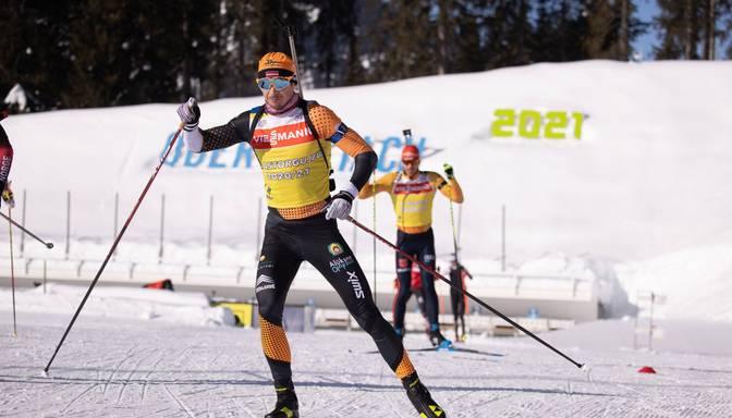 Rastorgujevam pasaules čempionātā biatlonā augstā 15.vieta desmit kilometru sprintā