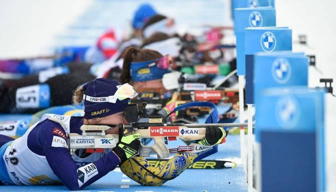 Latvijas biatlonisti PČ jauktajā stafetē izcīna 23. vietu; J.T. Bē ieliek pamatus Norvēģijas uzvarai