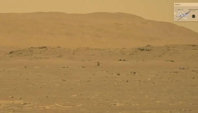 NASA veikusi pirmo helikoptera lidojumu uz Marsa