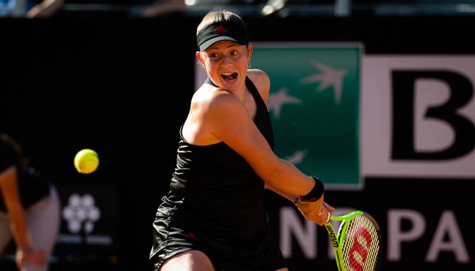 "Ostapenko nepārvar ""French Open"" dubultspēļu turnīra astotdaļfinālu"