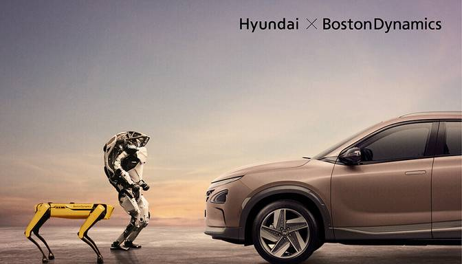 """Hyundai Motor"" paziņo par mobilo robotu firmas ""Boston Dynamics, Inc."" kontrolpaketes iegādi"
