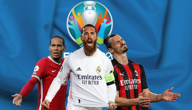 Ibrahimovičs, Serhio Ramoss un 10 citi talantīgi futbolisti, kuri netiek uz EURO 2020