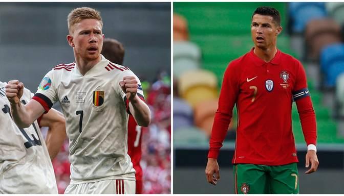TEKSTA VIDEO TIEŠRAIDE: EURO 2020. BEĻĢIJA – PORTUGĀLE