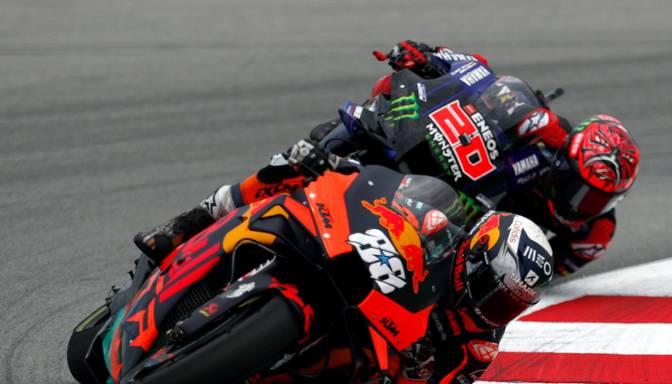 "Oliveira uzvar ""MotoGP"" posmā Barselonā"