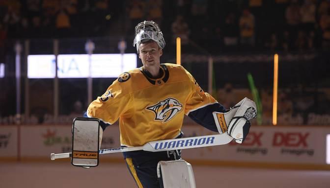 """Predators"" ikona Rinne noslēdz NHL karjeru"