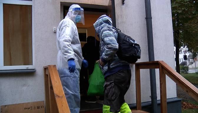 Rīgā darbu sāk specializētā patversme ar Covid-19 inficētajiem bezpajumtniekiem