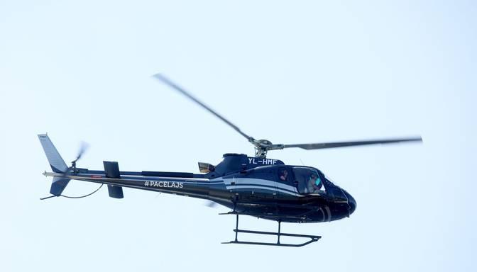 No Balviem uz Rīgu ar helikopteru nogādā smagu traumu guvušu pacientu