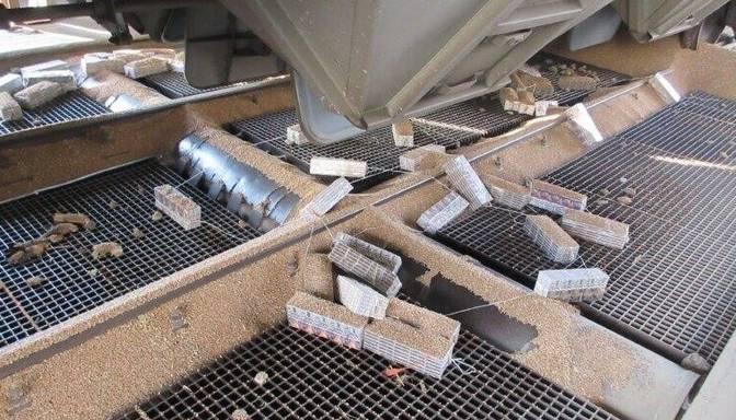 Kravas vilcienos konstatē vairāk nekā 253 000 kontrabandas cigarešu