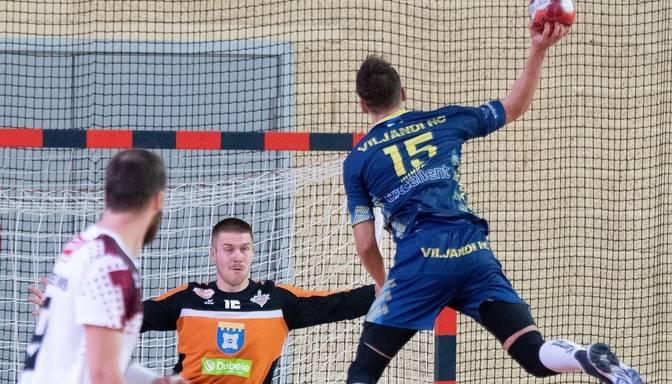 """Dobeles """"Tenax"""" un """"Ogrei"""" zaudējumi Baltijas Handbola līgas spēlē"""