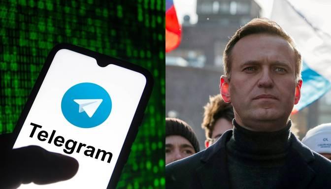 """""""Telegram"""" lietotnē bloķēta Navaļnija """"Gudrās balsošanas"""" aplikācija"""
