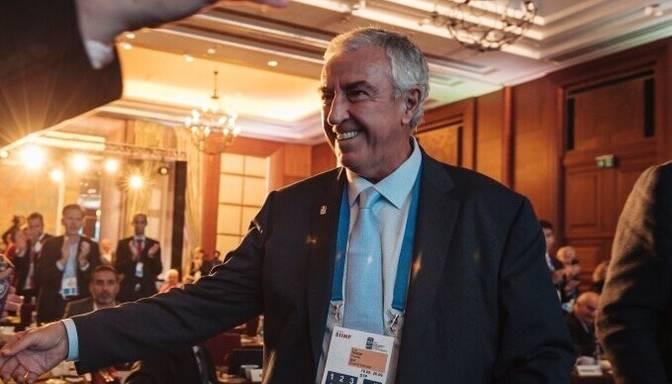IIHF prezidenta amatā ievēl Francijas pārstāvi Tārdifu