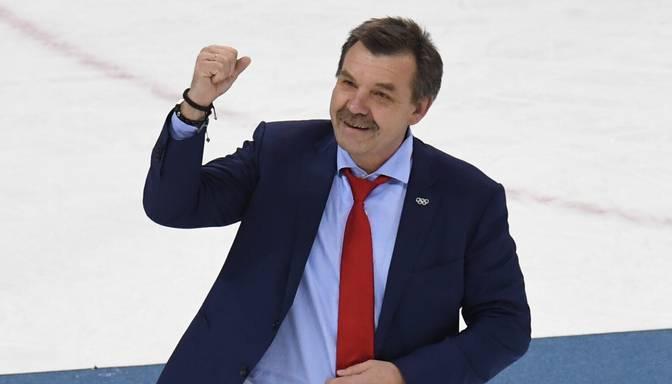 Znaroks vadīs Krievijas hokeja izlasi Pekinas olimpiskajās spēlēs