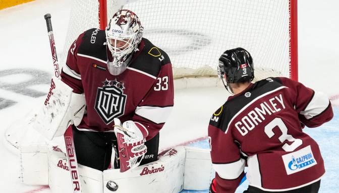 """TEKSTA VIDEO TIEŠRAIDE: KHL. Rīgas """"Dinamo"""" – """"Barys"""""""