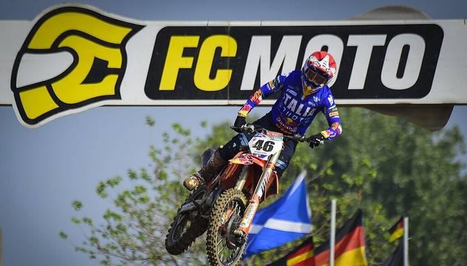 Latvijas motokrosa izlase Nāciju kausā finišē otrā desmita vidū