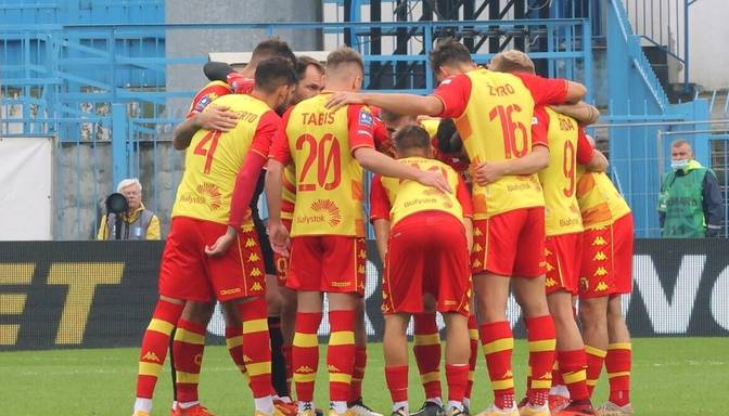 """Polijas futbola čempionātā uzvaras izcīna Šteinbora """"Jagiellonia"""" un Tobera """"Lechia"""""""