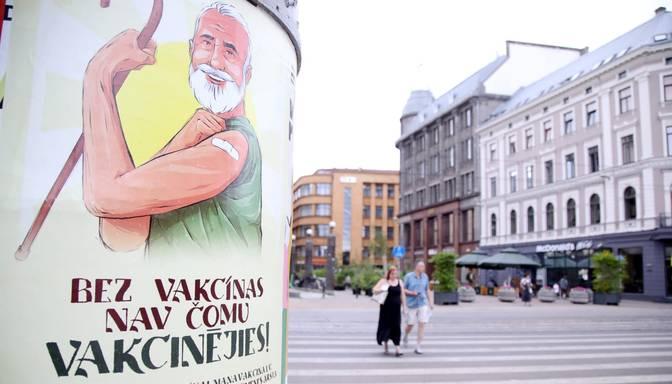 Latvijā vismaz vienu poti pret Covid-19 saņēmuši 47% iedzīvotāju