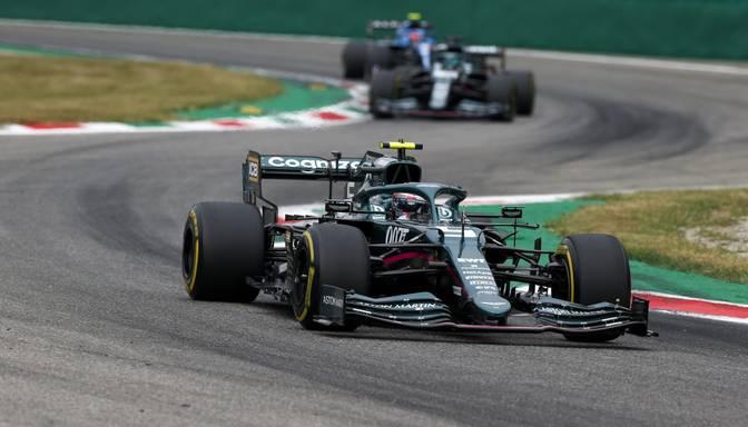 """F1 komanda """"Aston Martin"""" turpinās sadarbību ar Fetelu un Strolu nākamajā sezonā"""