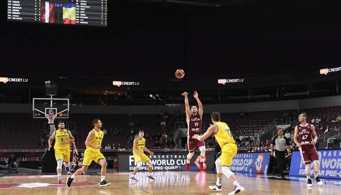 Latvijai 2025.gada EČ basketbolā finālposma rīkošanā konkurenci sastādīs Ungārija, Krievija un Ukraina