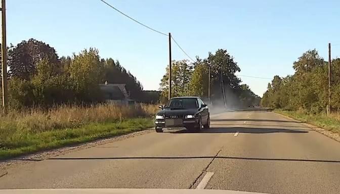 Ventspils novadā autovadītājs traucies ar ātrumu 168 kilometri stundā