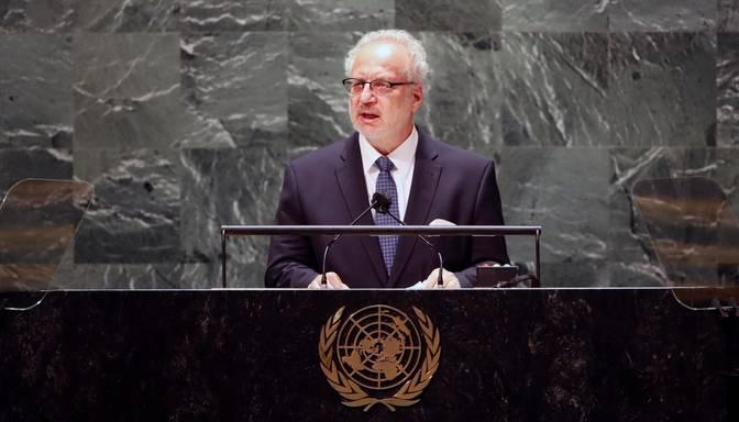 Baltijas valstu līderi ANO vērš uzmanību Lukašenko režīmam