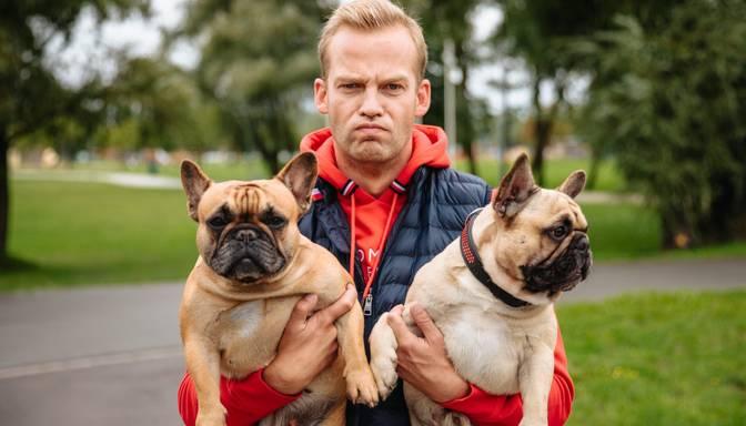 Kanāls TV3 piedāvās jaunu raidījumu suņu mīļiem kopā ar Oskaru Leperu