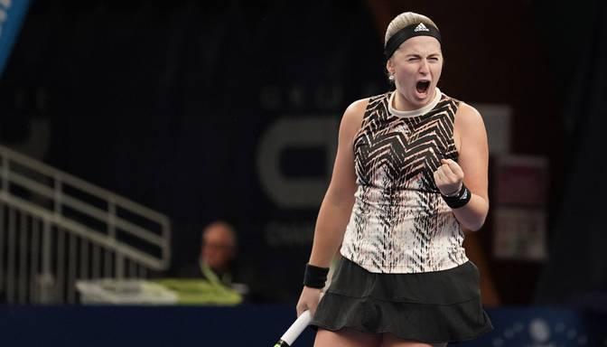 """Ostapenko sasniedz Ostravas """"WTA 500"""" turnīra otro kārtu"""