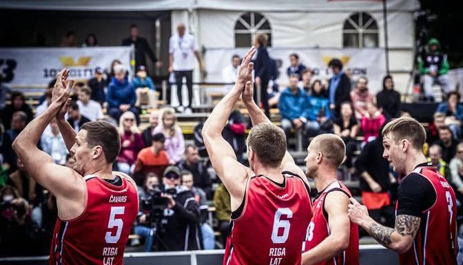"""""""Rīga"""" 3×3 basketbola komanda nepārvar ceturtdaļfinālu """"Masters"""" posmā Prāgā"""