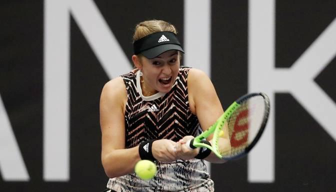 """Ostapenko Ostravas """"WTA 500"""" turnīra otrajā kārtā zaudē Sakari"""