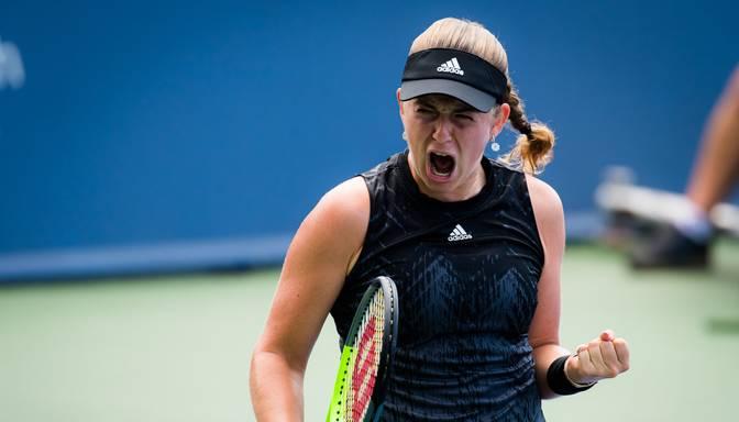 Ostapenko sasniedz Luksemburgas WTA turnīra pusfinālu