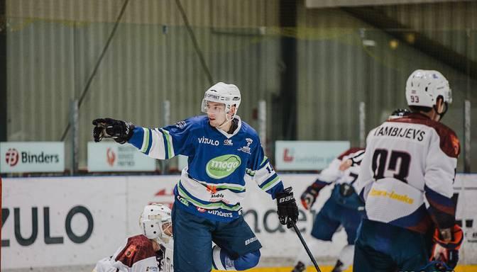 """Liepājas"" hokejisti uzvar čempionus; ""Mogo""/LSPA grauj ""Zemgale""/LLU"