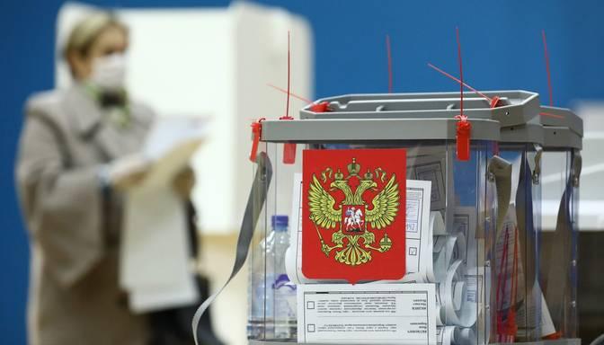 """CVK: """"Vienotā Krievija"""" ieguvusi vairākumu Valsts domē"""