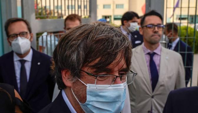 Itālijā pēc arestēšanas atbrīvots bijušais Katalonijas līderis Pudždemons