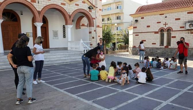 Grieķijai piederošajā Krētas salā nograndusi spēcīga zemestrīce