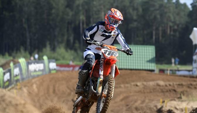 Latvijas motosportistiem augstā sestā vieta Nāciju kausa kvalifikācijā