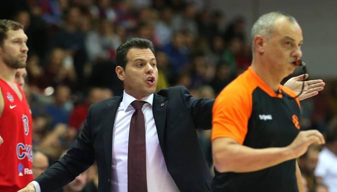 Par Grieķijas basketbola izlases treneri iecelts CSKA speciālists Itudis