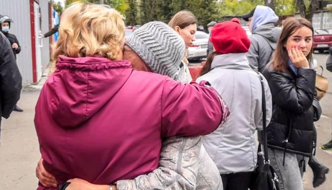 Apšaudē Krievijas augstskolā nogalināti astoņi cilvēki