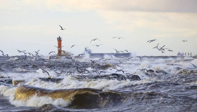 Sestdien daudzviet Latvijā gaidāms vējains laiks