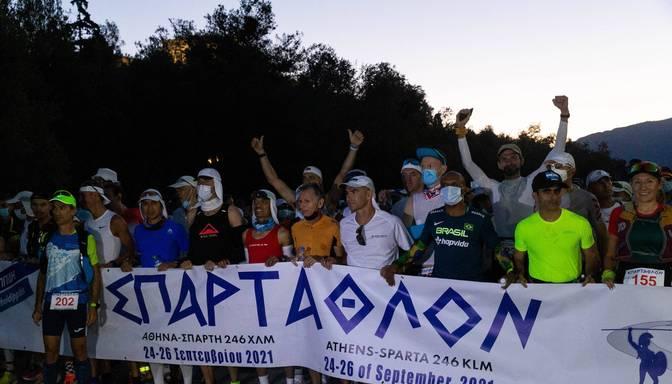Latvijas skrējēja Džaviza uzvar Spartatlonā
