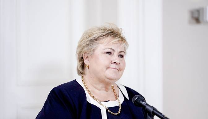 Demisionē Norvēģijas premjere Sūlberga