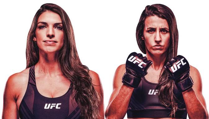 UFC dāmu duelī Lasvegasas oktagonā Derna cīnīsies ar Rodrigesu